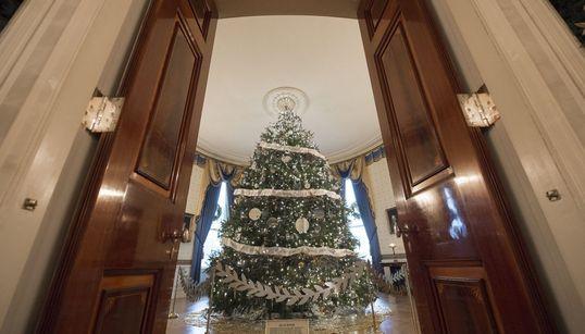 Η τελευταία χριστουγεννιάτικη διακόσμηση της Michelle Obama στον Λευκό Οίκο ξεπέρασε κάθε