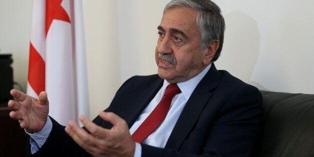 NEW YORK, USA - SEPTEMBER 26: Turkish Republic of Northern Cyprus President Mustafa Akinci speaks during...