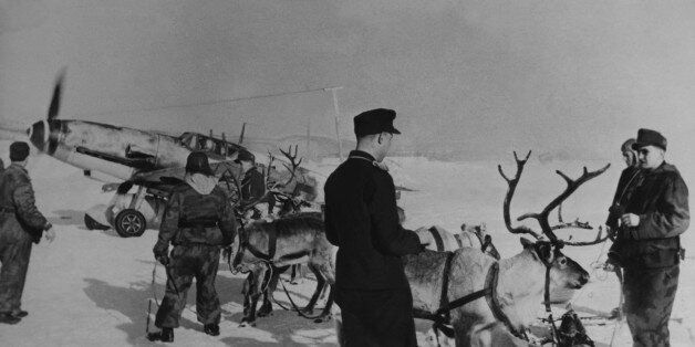 UNSPECIFIED - APRIL 06: Mountain Fighters Visiting Hunters From The Freezing Sea In Arctic On April 6Th...