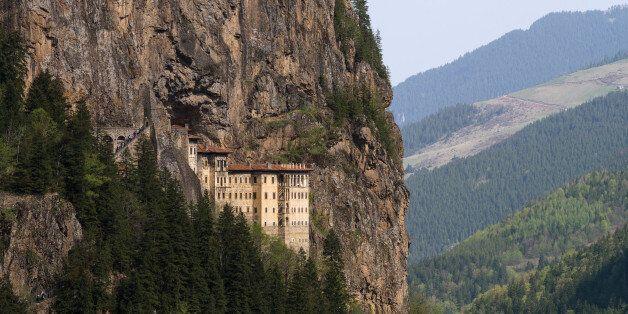 Sumela Monastery is a Greek Orthodox monastery in Trabzon region,