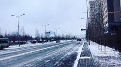 Παγωμένο το Καζακστάν. Στους -34 βαθμούς Κελσίου η θερμοκρασία στην