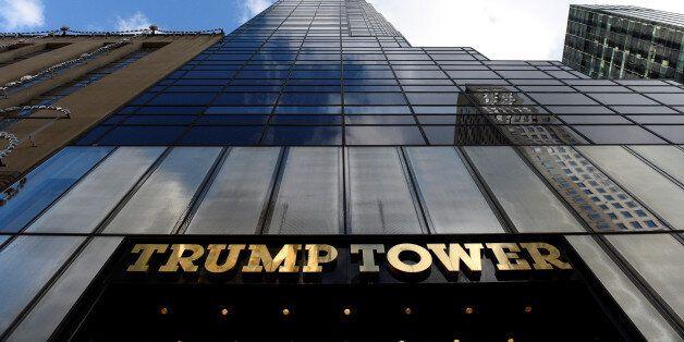 Republican president-elect Donald Trump's Trump Tower is seen in the Manhattan borough of New York, U.S.,...