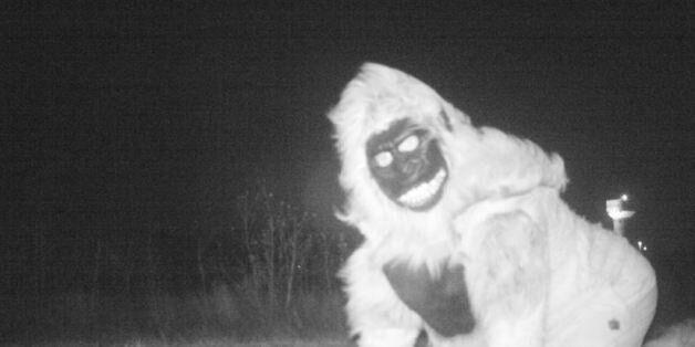 Τα περίεργα πλάσματα που κατέγραψε κάμερα της αστυνομίας στην