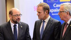 «Φυσική εξέλιξη» η αποχώρηση Σουλτς από το ΕΚ λέει ο Τουσκ. Την λύπη του εξέφρασε ο