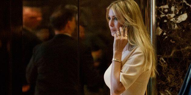 Ivanka Trump, daughter of President-elect Donald Trump, arrives at Trump Tower, Friday, Nov. 11, 2016,...