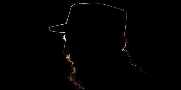 FILE - In this Feb. 3, 2006 file photo, Cuba's leader Fidel Castro speaks in Havana, Cuba. Former President...