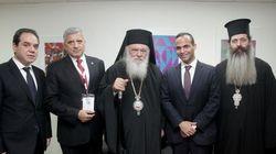 Ο Αρχιεπίσκοπος στην υπογραφή Συμφώνου Συνεργασίας της Κ.Ε.Δ.Ε. με την