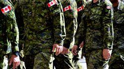 L'armée canadienne opposée à la