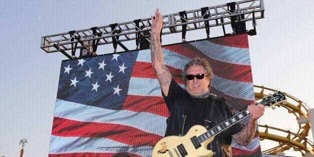 SANTA MONICA, CA - SEPTEMBER 11: Sex Pistols guitarist Steve Jones performs at Cycle For Heroes: A Rock...