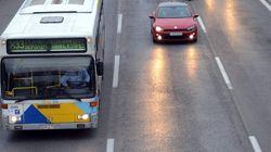 Πυρκαγιά σε λεωφορείο εν κινήσει στη