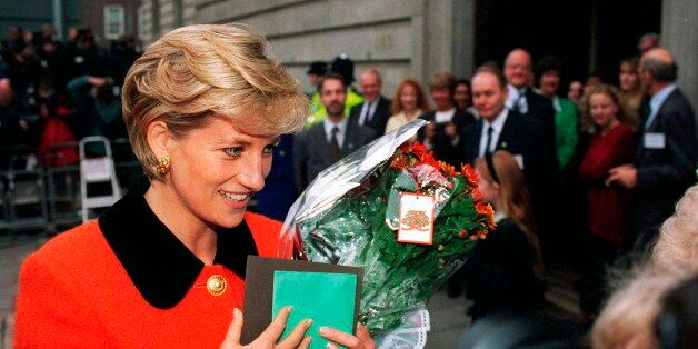 LONDON, UNITED KINGDOM - DECEMBER 09: Diana, Princess Of Wales At Leprosy 'success And Challenge: A Celebration...