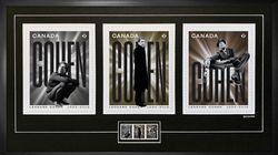 Des timbres pour rendre hommage à Leonard Cohen (et un album posthume à