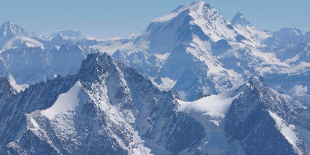 Summits of mountains in the