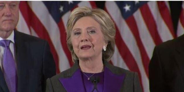 Χίλαρι Κλίντον: Το αμερικανικό όνειρο είναι αρκετά μεγάλο για όλους. Ελπίζω ο Τραμπ να είναι επιτυχημένος...
