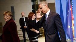 Μίνι σύνοδος Ομπάμα, Μέρκελ, Ολάντ, Μέι, Ραχόι και Ρέντσι στο