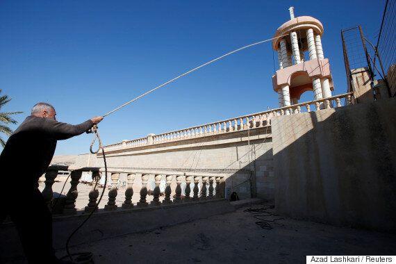 Ήχησαν ξανά οι καμπάνες στην ιρακινή, ιστορική Εκκλησία Mar Korkeis μετά τον διωγμό των