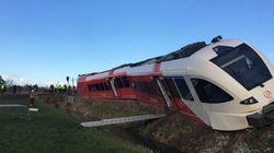 Εκτροχιασμός τρένου με πολλούς τραυματίες στην