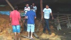 Φόβοι για νεκρούς από την κατάρρευση σπηλαίου κατά τη διάρκεια μιας θρησκευτικής γιορτής στη