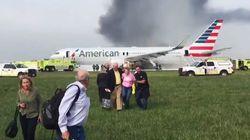 20 τραυματίες από πυρκαγιά σε αεροσκάφος της American