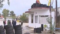 Κατάληψη με «άρωμα» ακροδεξιάς στο χώρο που θα κατασκευαστεί το τέμενος στο