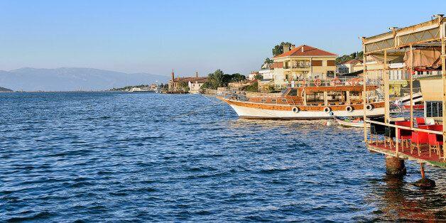 Coastline in Ayvalik,