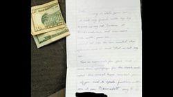 Έκλεψε κατά λάθος το αυτοκίνητο μιας γυναίκας και το επέστρεψε αφήνοντάς της ένα σημείωμα και