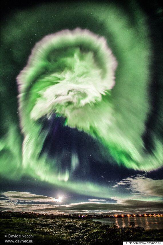 Ένα «τέρας» στους ουρανούς της Ισλανδίας: Όταν το Βόρειο Σέλας