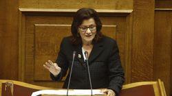 Η Θεανώ Φωτίου διαψεύδει ότι ενοχλήθηκε από την τοποθέτηση της Έφης Αχτσιόγλου στο υπουργείο