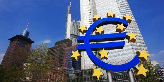 Germany, Frankfurt, European Central Bank, low