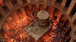 Το σημείο ταφής του Ιησού αποκαλύπτεται για πρώτη φορά μετά από αιώνες από Έλληνες επιστήμονες του