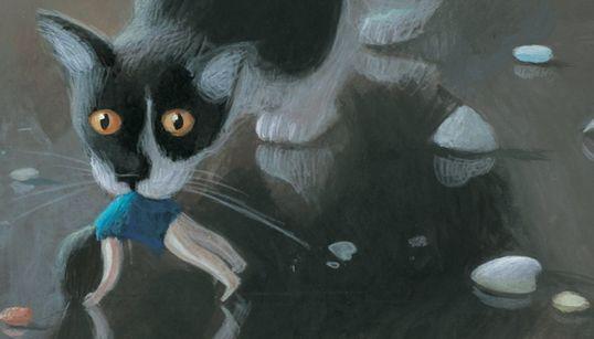 Δείτε τις πρώτες, ονειρικά σκοτεινές εικονογραφήσεις του παιδικού βιβλίου της Elena