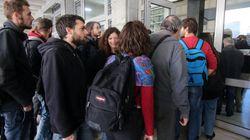 Νέα κινητοποίηση στο Ειρηνοδικείο Θεσσαλονίκης κατά των