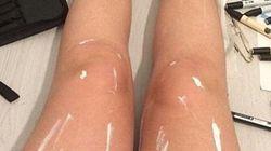 Η απόλυτη οφθαλμαπάτη: Πόδια που γυαλίζουν ή κάτι