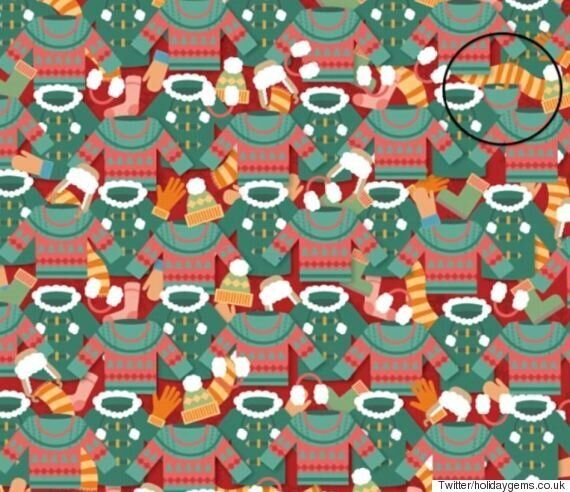 Ένας κουβάς είναι κρυμμένος ανάμεσα στα χειμωνιάτικα ρούχα. Mπορείτε να τον