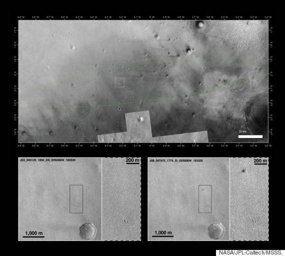 Επιβεβαιώθηκε το άδοξο τέλος του Schiaparelli της ESA στον