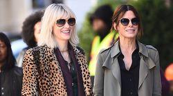 Ocean's Eight: Cate Blanchett και Sandra Bullock δίνουν ρέστα στις πρώτες φωτογραφίες από τα