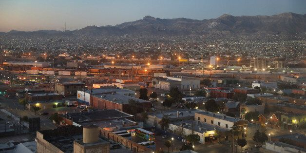 EL PASO, TX - OCTOBER 14: Ciudad Juarez is seen from the Texas side of the U.S.-Mexico border early on...