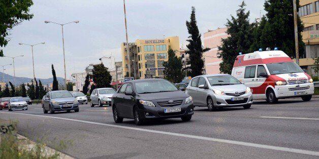 Κυκλοφοριακή συμφόρηση στην Αθηνών – Λαμίας λόγω ανατροπής