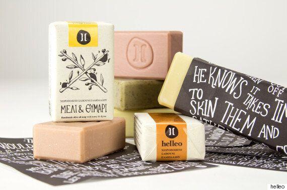 «Helleo»: Όλη η κρητική ύπαιθρος μέσα σε ένα χειροποίητο σαπούνι από έξτρα παρθένο