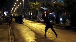 Συλλήψεις για πλιάτσικο σε κατάστημα κινητής τηλεφωνίας κατά τη διάρκεια πορείας για τον Φύσσα στο