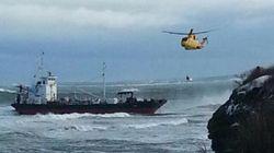 Pétrolier échoué au Cap-Breton: l'équipage va être
