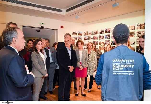 Το SolidarityNow παρουσίασε το έργο του στο Μουσείο Κυκλαδικής