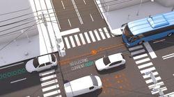 Une route qui recharge les voitures
