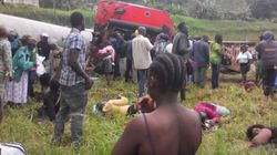 Toυλάχιστον τρεις νεκροί από εκτροχιασμό τρένου στο
