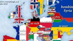 Ένας χάρτης με όλα τα στερεότυπα για κάθε χώρα της Ευρώπης (και ίσως κάπως