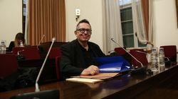 Ο Θέμος Αναστασιάδης στην Εξεταστική της Βουλής για τα δάνεια σε κόμματα και