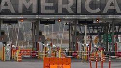 Fermeture du poste douanier de Lacolle après un appel