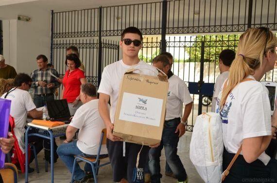 Ταξίδι αλληλεγγύης στους Φούρνους Ικαρίας από την Ομάδα Αιγαίου και εθελοντές του Κολλεγίου