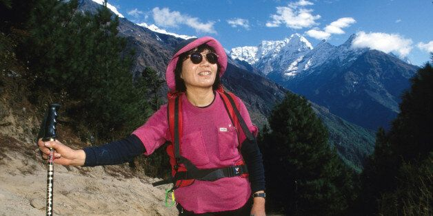 Junko Tabei, from Japan, was the first woman to reach the summit of Everest on May 16, 1975, at the age...