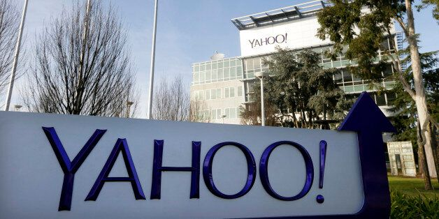 FILE - This Jan. 14, 2015 file photo shows Yahoo's headquarters in Sunnyvale, Calif. According to a Reuters...